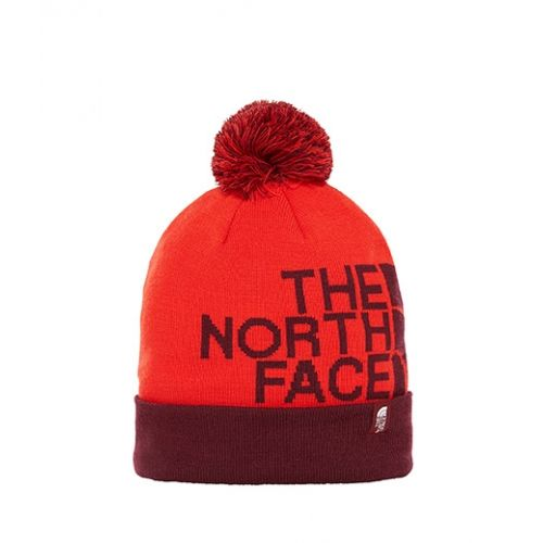 the north face ski tuke V fiery red